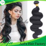 Le volume fiable de cheveux humains de la bonne qualité 100% d'approvisionnement d'usine de cheveu