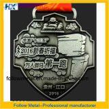 Kundenspezifische Medaille für Marathon Singapur mit laufendem Mann 1