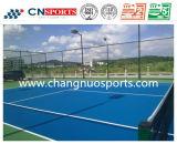 Теннисный корт цвета длительный и пригодный для носки с сертификатами Itf