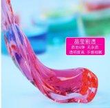 Argilla di cristallo, argilla per i bambini, argilla di cristallo variopinta magica di formazione