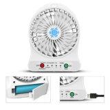 Портативный перезаряжаемые вентилятор USB миниый/вентилятор охлаждающего вентилятора/стола