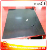 610 * 610 * 7mm aquecedor de pneus elétrico aquecedor de borracha de silicone preto