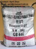 Cera de parafina inteiramente refinada quente 58-60 da venda