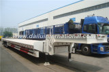 3-assen de Semi Aanhangwagen van Lowbed van het Vervoer van de Container van de Opschorting van de Lucht