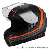 2017 ECE de venda quente, PONTILHAM capacete aprovado Casco da face cheia da motocicleta