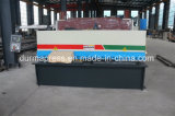 중국은 디자인 QC12y-6*3200mm NC 판매를 위한 유압 판금 깎는 기계를 진행했다
