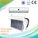 4HP 3ton callan la CA partida del acondicionador de aire solar híbrido montado en la pared corriente Tkf (r) -100gwa