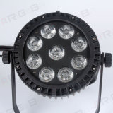 9ledsx15wrgbwa+UV6in1 Waterproof IP65 Outdoor LED PAR Can Stage Light