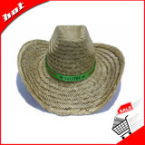 Шлем ковбоя сторновки травы циновки выдвиженческий
