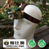 faro di 0.8W 1W LED, indicatore luminoso di galleggiamento esterno di campeggio del faro di estrazione mineraria della lampada del minatore delle miniere di carbone della Li-Poli batteria 1PC*, da pesca indicatore luminoso