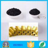 L'oro del primo grado purifica il carbonio attivato coperture della noce di cocco
