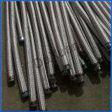 1 pipe mâle en métal d'acier du carbone d'échappement d'extrémité de bride