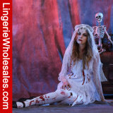 Costume Cosplay партии Halloween причудливый платья невесты привидения зомби женщин