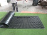 Couvre-tapis en caoutchouc d'anti évacuation creuse de glissade de bobine/anti couvre-tapis en caoutchouc de fatigue