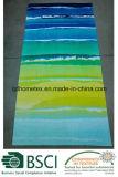 Essuie-main 100% de plage estampé réactif de velours de coton de modèle chaud de Paisley