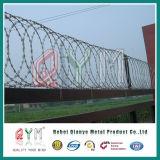 アコーディオン式かみそりワイヤー/Razorワイヤー刑務所の塀か有刺鉄線の刑務所によって溶接される塀