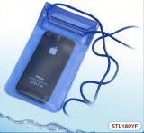 Sac imperméable à l'eau de plage de PVC de la livraison rapide pour l'iPhone HTC ou les séries de galaxie