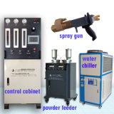 金属粉の吹き付け器装置、金属炭化タングステンのHvofのスプレー装置