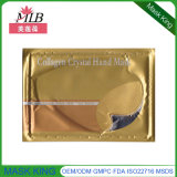 Ouro Mositurize do colagénio e máscara da mão de Nourishi