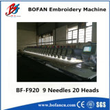 Operation et 20 automatisés Heads Head Number Not Tajima Embroidery Machine