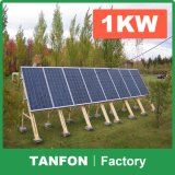 2017 격자에 그리고 격자 태양 발전기 떨어져 경제 태양 가정 시스템 1kw 2kw
