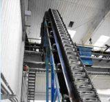 Mit hohem Ausschuss vertikaler Riemen-Gummiwannen-Höhenruder-Förderband