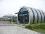 Stahlkonstruktionprefabrication-schönes Stärken-Gebäude