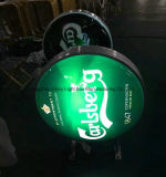 Signe du panneau-réclame DEL de publicité de bière pour la publicité