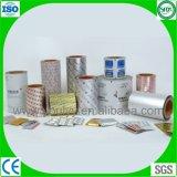 Impression de papier d'aluminium