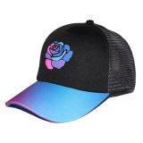 Espuma de la impresión de encargo de la flor y sombrero coloridos del camionero del acoplamiento