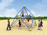 体操公園の娯楽屋外の適性の運動場装置の上昇のネット