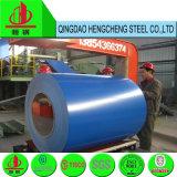 中国カラーはPPGIの鋼鉄Prepainted電流を通された鋼鉄コイルに塗った