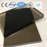 Color gris oscuro/vidrio de flotador teñido/claro para el edificio/la decoración