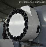 Corte de aluminio medio del CNC que trabaja a máquina Center-Pratic-CNC4000