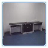 鉄骨フレームの金属の実験室の本部のベンチ