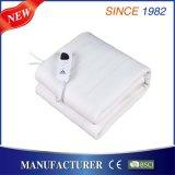 Aquecedor de cama elétrico 100% poliéster com proteção contra o calor