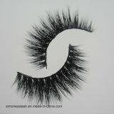Плетки глаза черного перекрестного состава ложной ресницы мягкого длиннего косметические