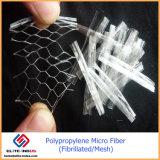 Fibra fibrilada extrusão de Ploymer do formulário do engranzamento do Polypropylene micro