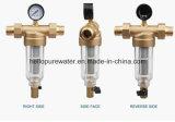 Da água filtro de bronze pre para o abastecimento de água do agregado familiar