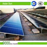 O sistema de energia solar do laço à terra da grade da montagem 15kw 15 quilowatts dirige o sistema de energia
