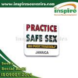 ジャマイカの日の出のPalmtree柔らかいPVC冷却装置磁石