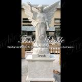 Pierre tombale commémorative Mem-041 de Metrix Carrare de granit en pierre de marbre
