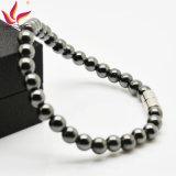 Htb005Aは人の宝石類の赤鉄鉱のビードエネルギーブレスレットを冷却する
