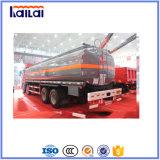 Caminhão de combustível de Jiefang 8X4 do caminhão do depósito de gasolina de FAW para o mercado de Filipinas