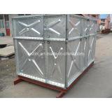 Recipiente de aço galvanizado da água do painel Q235