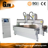 China High Precision Nc Estúdio Dual-Cabeça Multi-Spindle Carpintaria máquina de gravura do CNC Router (DT1625-2)