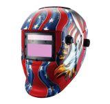 L'automobile de modèle estampée par coutume obscurcissent le casque et le masque de soudure