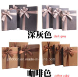 Fabric Bowknot를 가진 새로운 Design Fancy Paper Gift Box