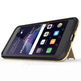 Geval van de Telefoon van Kickstand van de Mens van het ijzer het Mobiele voor Huawei P8 Lite 2017