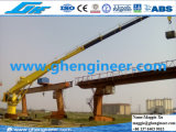 3t40m Hydraulic OffshoreTelescopic Boom Crane Hoisting Machine